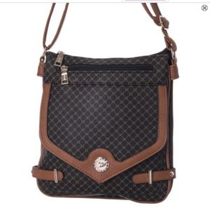 Handbags - NEW Crossbody Shoulder Bag Brown Color